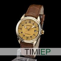 New Dress Automatic Mens Class Watches Mechanical Date Men's Analog Watch
