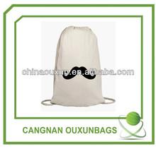 Top quality contemporary handmade drawstring laundry bag
