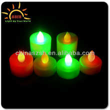 Blinking LED Candle Decoration Kids High Quality Fashionable LED Candles Wax Wholesale