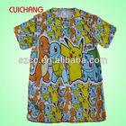 Custom printed collar tshirt design,tshirt manufacturer