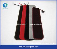 various color grey velvet pouches drawstring