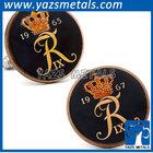 elegant crown cufflink men