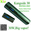 New Arrival 30W big vapor stainless steel KSD 30 vaporizer wholesale