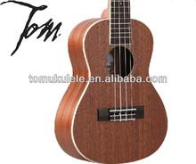 Tom guitarra tuc-200b ukelele fabricación china ukelele rosetas de guitarra