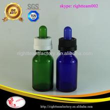 15ml glass bottle childproof cap sharp glass dropper childproof cap