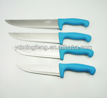 PP handle chef knife set with high quality and resonable price