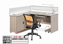USA Style Design Office Cubicles, I-shaped Office Cubicle Workstation A13-05