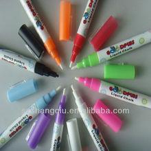 Water based 3mm chisel liquid chalk marker pen 8 colours marker pen factory
