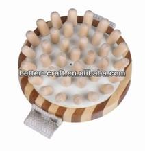 hot round massage tools wood