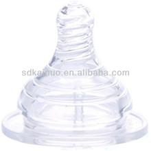 BPA free molding silicone wholesale baby nipple