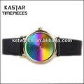 pulsera de cuero dama reloj coss stock disponible