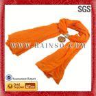 long dress chiffon new style women's orange triangle winter knit infinity scarf