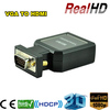 High performance Metal shell full HD s-video vga rca to hdmi converter
