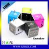 Colorful 3.5mm Audio portable mini speaker for iphone sansung Smartphone