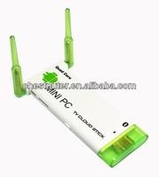 Dual Core Mini PC J21 For Android 4.2 TV Box Dual WiFi Antenna Rockchip RK3066