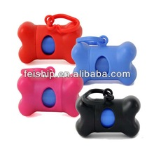 high quality colorful dog trash bag dispenser
