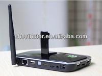 CS918S Android 4.2 Smart TV Box Quad Core 2GB RAM 16GB ROM Built in 5.0MP Camera Media Player TV receiver game box