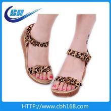 golden sandals