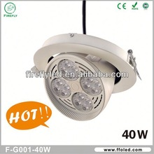 360 Degree,40W,Dimmable LED Downlight battery backup led emergency ceiling light With CE,RoHS