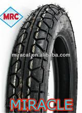 Nuevo patrón de la motocicleta interior del tubo y ruedas 3.00-17 todo el tamaño