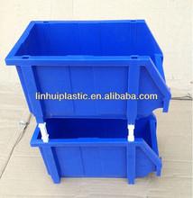 Pequenos recipientes de plástico grosso