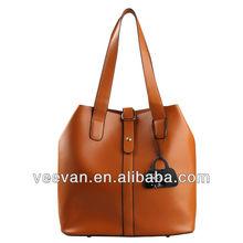 Veevan 2014 elegance pu leather tote bag,,designer tote bag for ladies