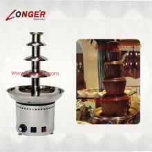 4 tiers small/mini/commercial chocolate fountain machine