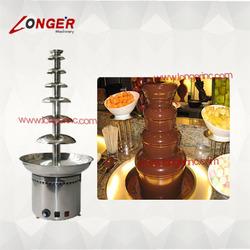 7 tiers small/mini/commercial chocolate fountain machine