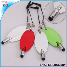 2014 new design novelty min colorful stylus pen for gift