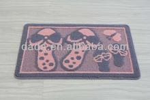 polypropylene loop pile color design bath mat