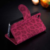 Hot Selling Card Holder Leopard Pattern Wallet Case for iPhone 4 leopard flip leather case