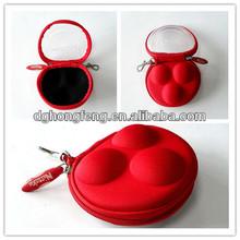 Zipper EVA Golf Ball Case Portable Tool Case