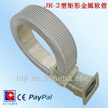 JR-2 rectangle of enclosed type metalic hose