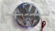 2013 3D Visual LED car logo, hottest LED ghost shadow 3d car logo light for vw