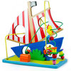 DIY plastic model toys,3D plastic sailing model toys