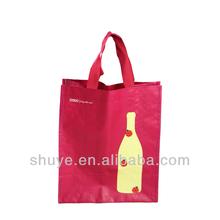Wholesale PP Woven Wine bottle Bag