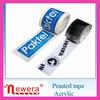 NEWERA bopp strong adhesive customized tape