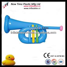 inflatable pvc trumpet