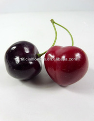 Artificial real touch cherry fruit for home decoration
