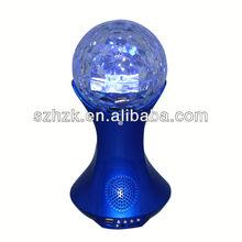 2014 Latest item LED light ocean sea waves projector speaker led night light supplier