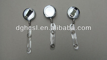 stainless 360 rotating badge reel