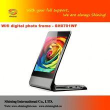 "SH0701WF 7"" digital frames music background album book"