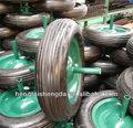 Sólidos rodas de borracha 350 - 8, Sólida carrinho de mão pneu