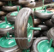 solid rubber wheel 350-8, solid wheelbarrow tire