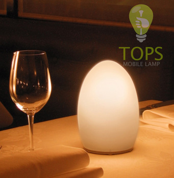 Restaurant Table Lamps Battery Operated 2014 fashion battery operated led restaurant table lamp with glass ...