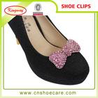 Ornament custom metal shoe lace buckle for ladies shoes
