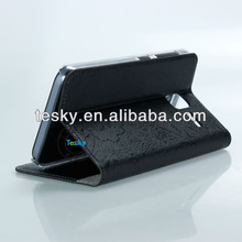 Alibaba China Supplier Slimline Book Case Flip PU Leather Cover For Lenovo A850+