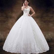 N7041 newest lace tutu wedding dress elegant bride white dress floor-length bing wedding dresses