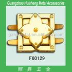 Fashion high quality fancy metal lock with clasp