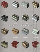 aluminium profile for closet wardrobe door